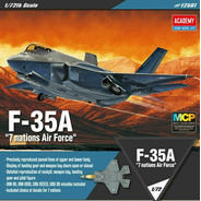 F-35a  7 Nations Air Force  1/72 Academy 12561