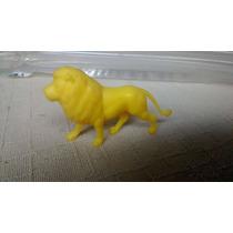 Boneco Coleção Animais Fazendinha Guliver Leão Amarelo