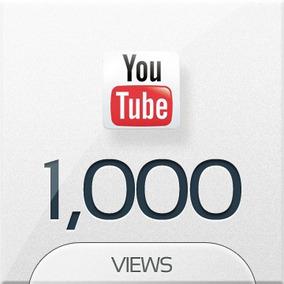 1.000 Visualizações Youtube Marketing (1 Mil Views)