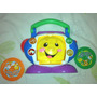 Juguete Musical Fisher Price Aprende Ingles Radio Tocadisco