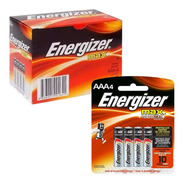 40 Pilas Aaa Energizer 1.5v Alcalina - Caja Cerrada - Nuevas