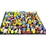Bigoct Pokemon Figura De Acción En Miniatura (144 Piezas)