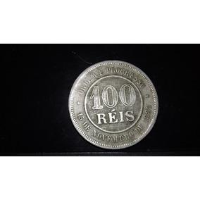 Moeda 100 Réis 1889