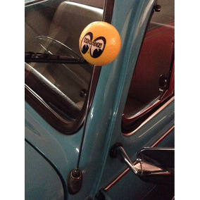 Accesorio Adorno Antena Original Unicel Mooneyes Amarillo