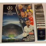 Album Uefa Champions League 2016/17 Topps Completo A Pegar
