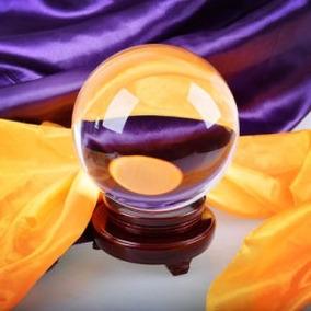 Bola O Esfera Cristal Para Adivinación- Tamaño Mediano 12 Cm