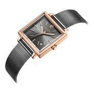 Reloj Julius Ja-1083 Mujer Dama Cuadrado Envío Gratis