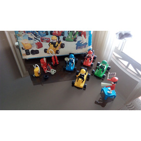 Playmobil Trol Anos 80 - Corrida De Carros