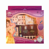 Set Decorador Uñas Infantil Disney Princesa Bella Original
