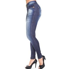 Calça Skinny Jeans Com Elastano Cós Médio Canal Da Mancha