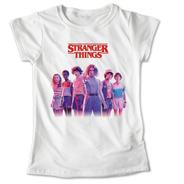 Blusa Stranger Things Colores Playera Estampado Focos #573