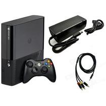 Consola Xbox 360 4gb Con Accesorios En Su Caja + Diadema