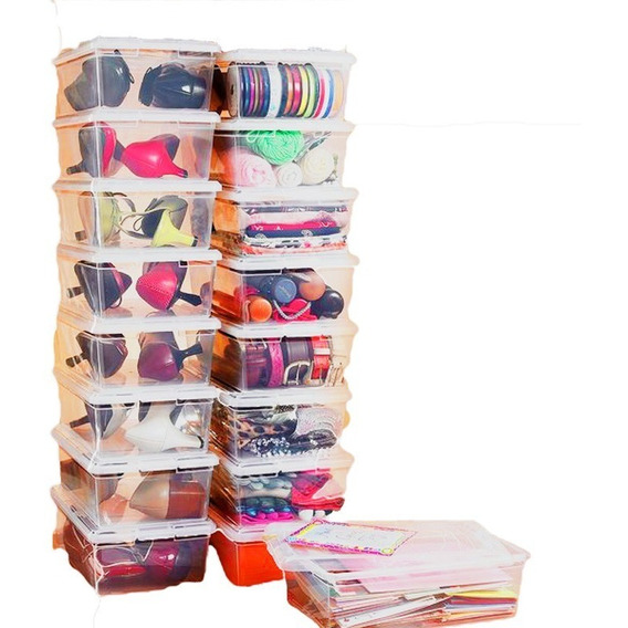Oferta! Envío Gratis Organizador X 14 Plástico Zapato Caja