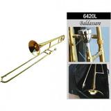 Trombón Baldassare Tenor 6420l Dorado