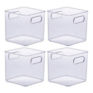 Organizador Multiuso Diamond Cristal Paramount 4 Peças 899