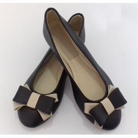 Sapatilhas Preto Olha Ella Shoes Confortáveis Couro
