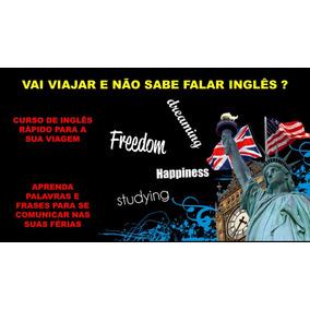 Curso De Inglês Para Sua Viagem De Férias