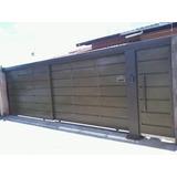 Portão De Garagem Novo Sob Medida.