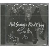 Cd All Saints - Red Flag [autografado] Uk