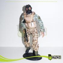 Van Damme Custom 1/6 Para Hot Toys - Nerdkong