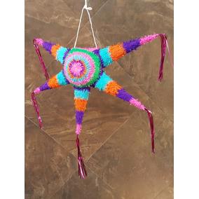 Piñata Estrella Para Fiestas Y Posadas