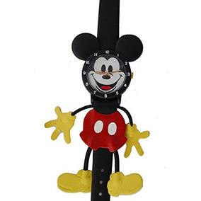 Lorus Mickey Mouse Reloj Figural De Cuero Personalizado Mic