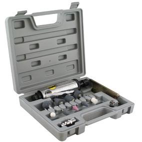 Mini Retífica Pneumática Com 10 Acessórios E Maleta - 8nj -