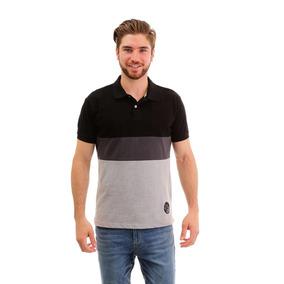 Camisa Polo Para Hombre Hang Ten Tricolor 3762feb82b256