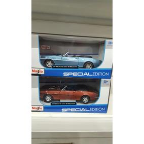 Chevrolet Camaro Ss 396 1968 1:24 Maisto Coleccion July Toys