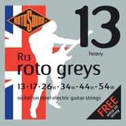 Encordado Eléctrica Rotosound Roto Greys R13 Heavy 013-054