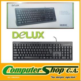Teclado Alambrico Multimedia Usb 2.0 / Delux / K6300