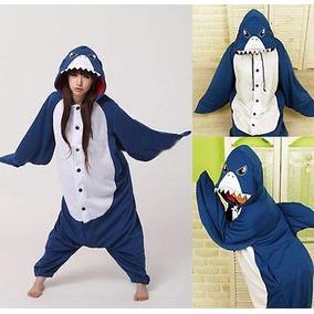 Pijama Mameluco Disfraz Cosplay Unisex Animal Tiburon Xtreme