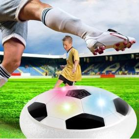 Flat Ball Disco Flutuante Led Bola De Futebol Dentro De Casa