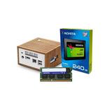 Computadora Pc Mini Intel Dual Core Ssd 240gb 8gb Hdmi W10