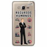 Case Capa Capinha Samsung Galaxy J2 Prime - Rec Humanos Masc