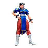 Street Fighter V - Chun-li - Storm Collectibles Robot Negro