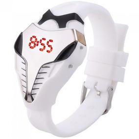 Reloj X-men Cobra Led Digital Red Sun Moderno Blanco M9076