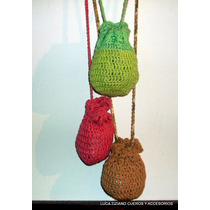 Bolsito Artesanal A Crochet Ideal Celular,monedero,cigarrera