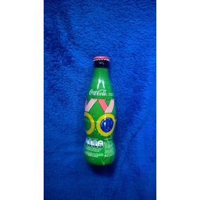 Mini Garrafa Garrafinha Coca Cola Brasil Olimpiadas Lacrada