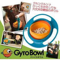 Tigela Prato Gyro Bowl Magico Criança Comida Nao Cai