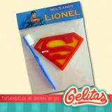 Superman. Souvenir Portacepillos Con Cepillo Dental