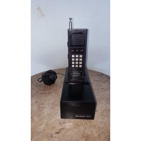 Telefone Sem Fio Antigo Meg 20000 Japones(only Wood)
