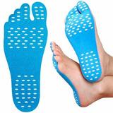 Plantilla Adherible Protectora Para Pies Nakefit Azul D1138