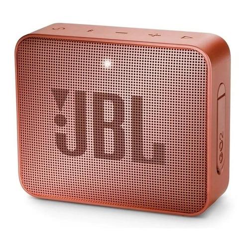 Alto-falante JBL Go 2 portátil com bluetooth sunkissed cinnamon 110V/220V