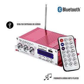 Modulo Amplificador Bluetooth Radio Fm Mp3 Stereo Carro Moto