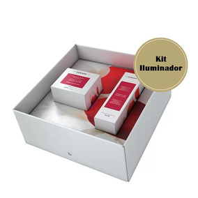 Korres Kit Iluminador Rosa Mosqueta Creme Hidratante E Serum