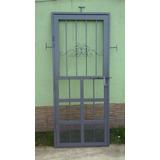 Puerta Reja En Hierro Macizo Y Caño.en Merlo