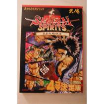 Libro Definitive Shin Samurai Spirits Gemesuto Manga Anime