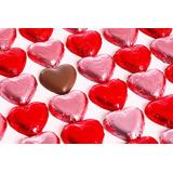 Bombones Chocolate Corazon Macizos Envueltos Souvenir