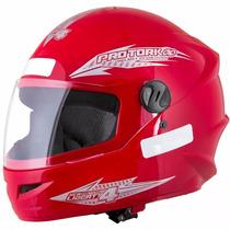 Capacete Motociclista Pro Tork New Liberty Four 4 Vermelho